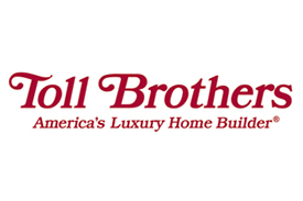 Toll Brothers America's Luxury Home Builder, a client of On Guard Fire Protection