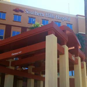 Fire Protection for Southern Hills Hospital Las Vegas done by On Guard Fire Protection
